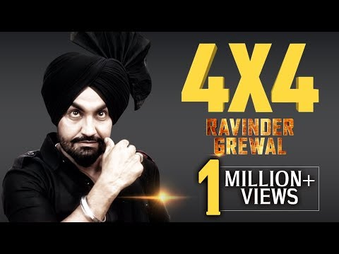 Four By Four | 4 X 4 | Full Video | Ravinder Grewal | Latest Punjabi Song 2018 | Tedi Pag Records