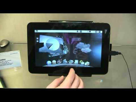 Shuttle P10AN02 Android Tablet im Test (Hands On)
