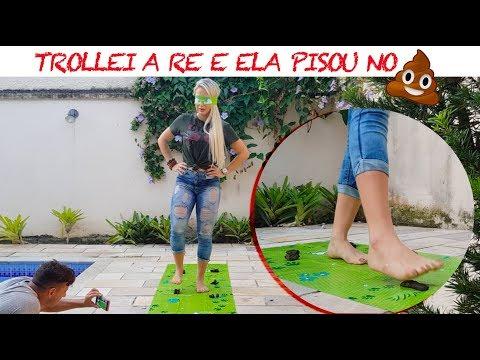 TROLLEI A RÊ E ELA PISOU NO **&
