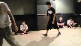 神戸deバトル~BREAK - B-BOY/B-GIRL SOLO BATTLE - 2010.8.6.FRI ○BATT...