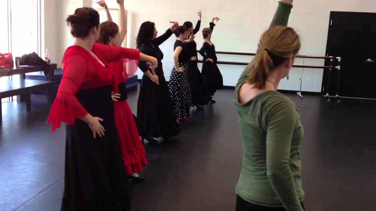 Bulerias Flamenco Dance Class Youtube