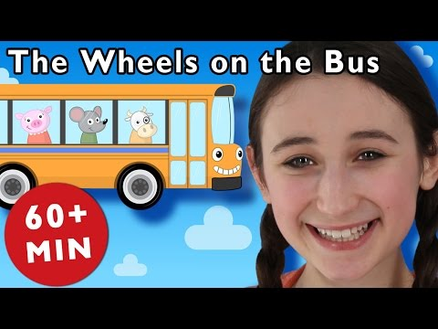B Is for Bus | The Wheels on the Bus and More | Nursery Rhymes from Mother Goose Club!
