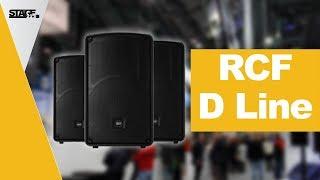 RCF D Line HD 35 und HD 15   Prolight + Sound 2018
