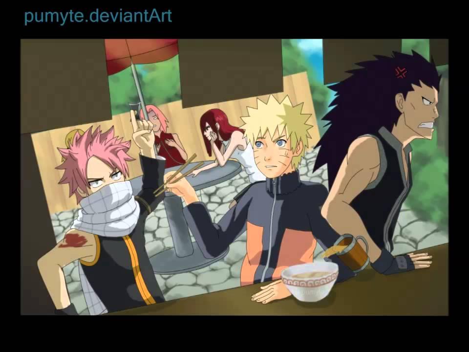Irrelevant Mashup: Naruto/Fairy Tail Theme Remix