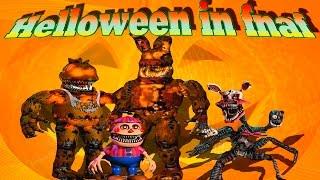 ➥Five nights at Freddy's 4 - Обзор Halloween edition + бонус