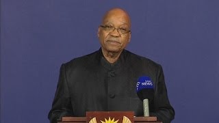 Nelson Mandela dead - South African President Jacob Zuma announces Madiba