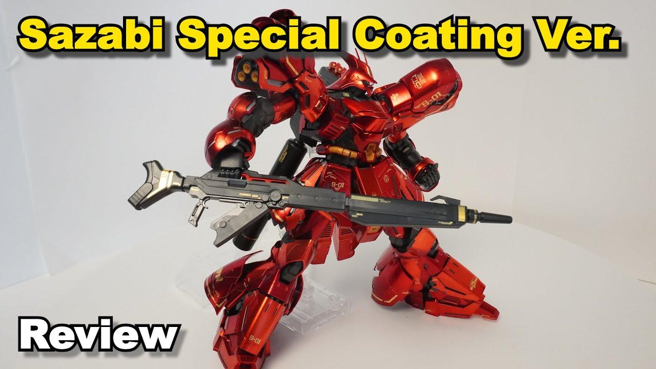 MG Sazabi Ver.ka. Special Coating Version Review - Coating ...