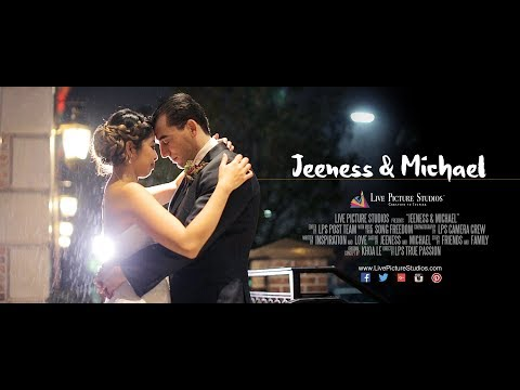 Jeeness And Michael Wedding Highlight At The Il Villaggio Nj