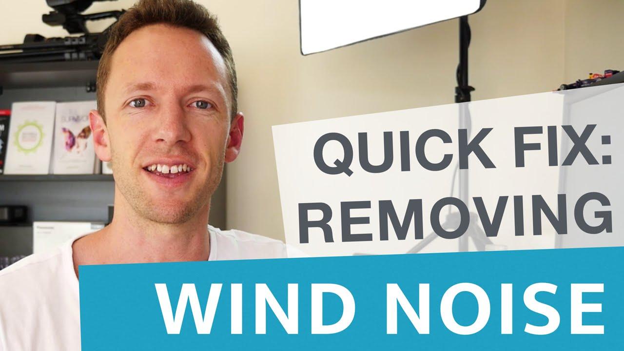 remove wind noise premiere
