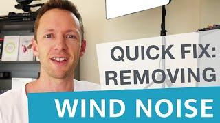 Remove Wind Noise in Videos: Quick Audio Fix