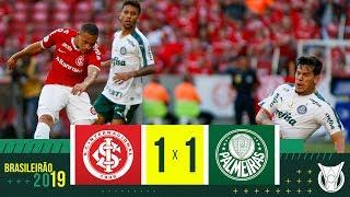 INTERNACIONAL 1 X 1 PALMEIRAS - Melhores Momentos - Brasileirão 2019 (29/09/19)