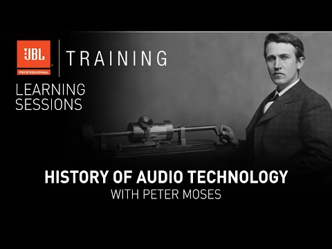 History of Audio Technology with Peter Moses - Webinar