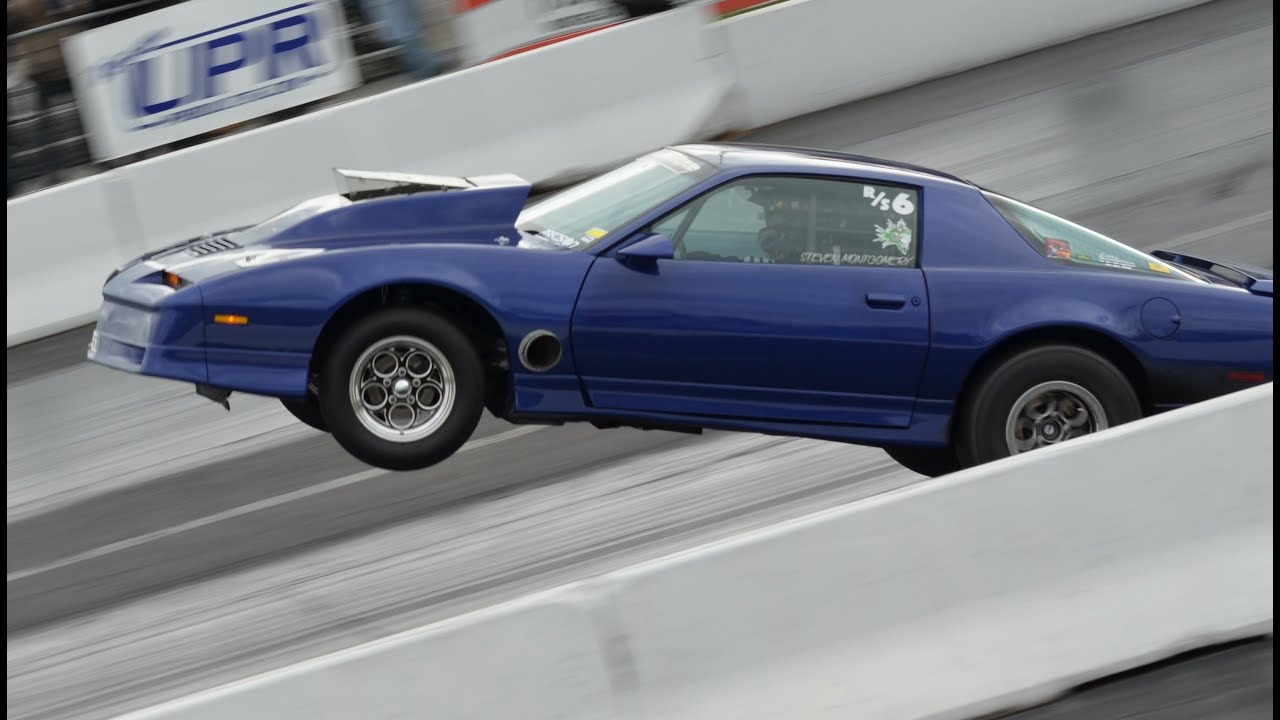 HUGE WHEELIE in an 8 second TRANS AM! - YouTube