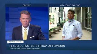 More protests in Denver demanding justice for George Floyd
