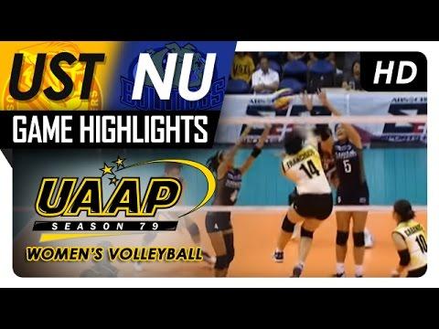 UST vs NU | Game Highlights | UAAP 79 WV | April 8, 2017