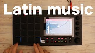 Latin music  feat MPC LIVE