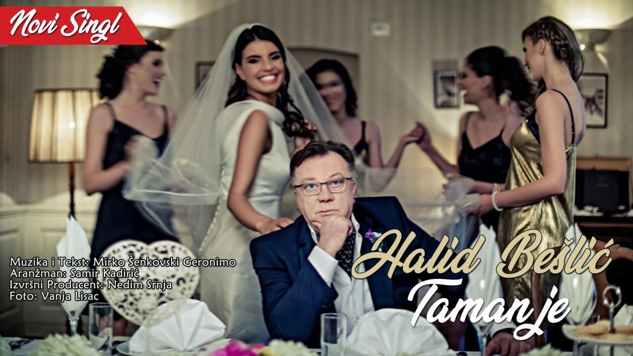 Halid Beslic - Taman Je -  (Audio 2018)