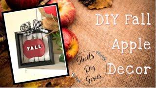 DIY Fall Apple Decor