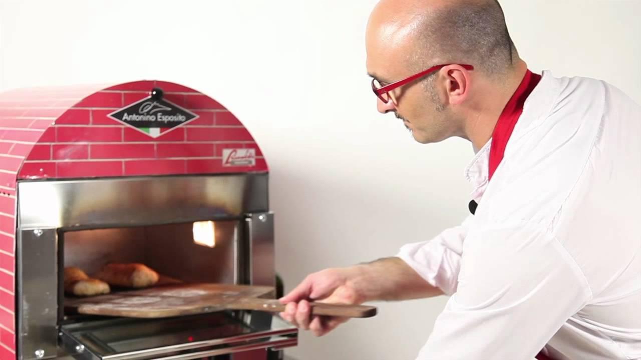 Il forno professionale di antonino esposito youtube - Piastra refrattaria per forno casalingo ...