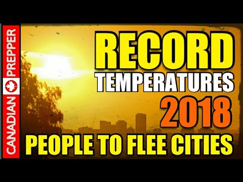 Dangerous Global Temps: People Bake in the CIties 120° + Degrees
