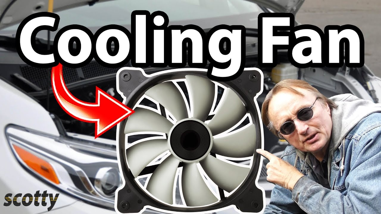 How To Repair A Cooling Fan In Your Car Youtube 2006 Honda Odyssey Serpentine Belt Diagram On Pilot