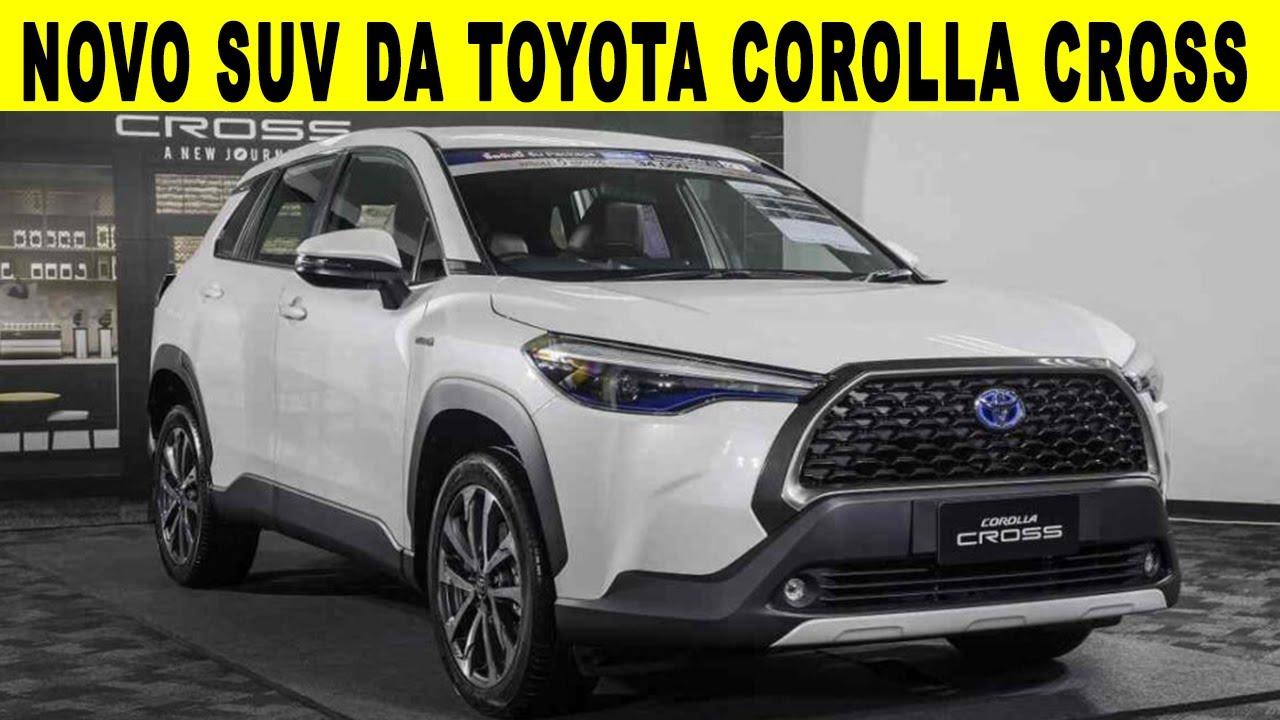 NOVO SUV DA TOYOTA COROLLA CROSS 2021 - MAIS UM RIVAL DO COMPASS