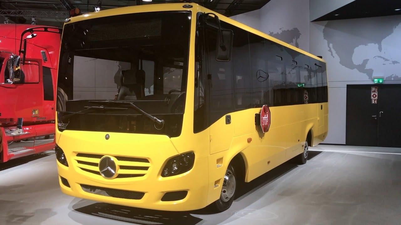 Mercedes benz schoolbus 2016 in detail review walkaround for Mercedes benz school
