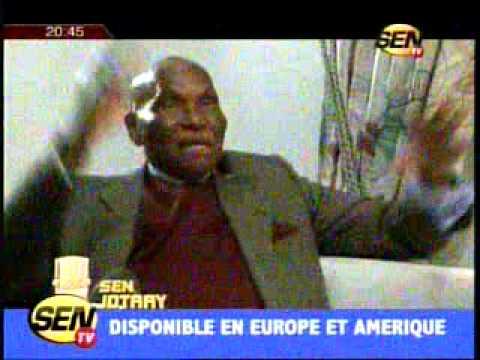 SenJotay avec Abdoulaye Wade