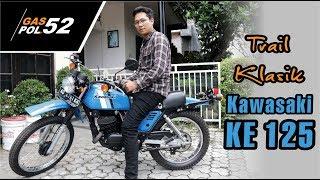 Kawasaki KE 125 Trail Klasik Yang Langka Di Pasaran