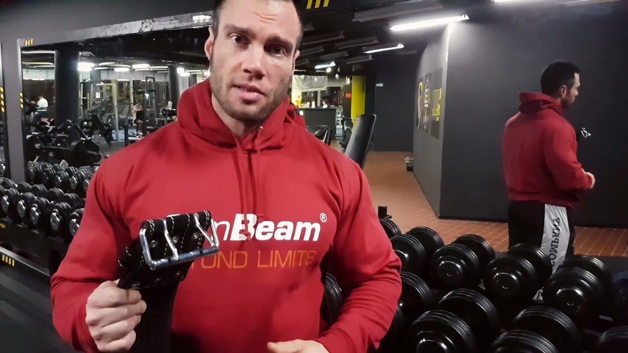 7f5bed7e8 Fitness belt Arnold - GymBeam - Video review - Péter Molnár - YouTube