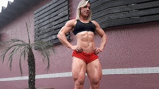 Carla Inhaia - Super Strong Female Muscle Legs