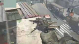 Modern Warfare 2 Throwing Knife Montage