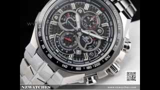 Casio Edifice Chronograph Screw Lock Crown Sports Watch EF-554SP-1AV, EF554SP