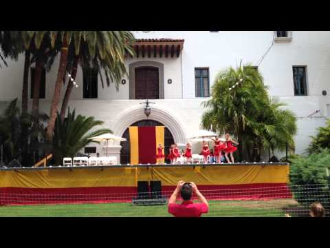 Montecito Ballet Performing at Santa Barbara Courthouse