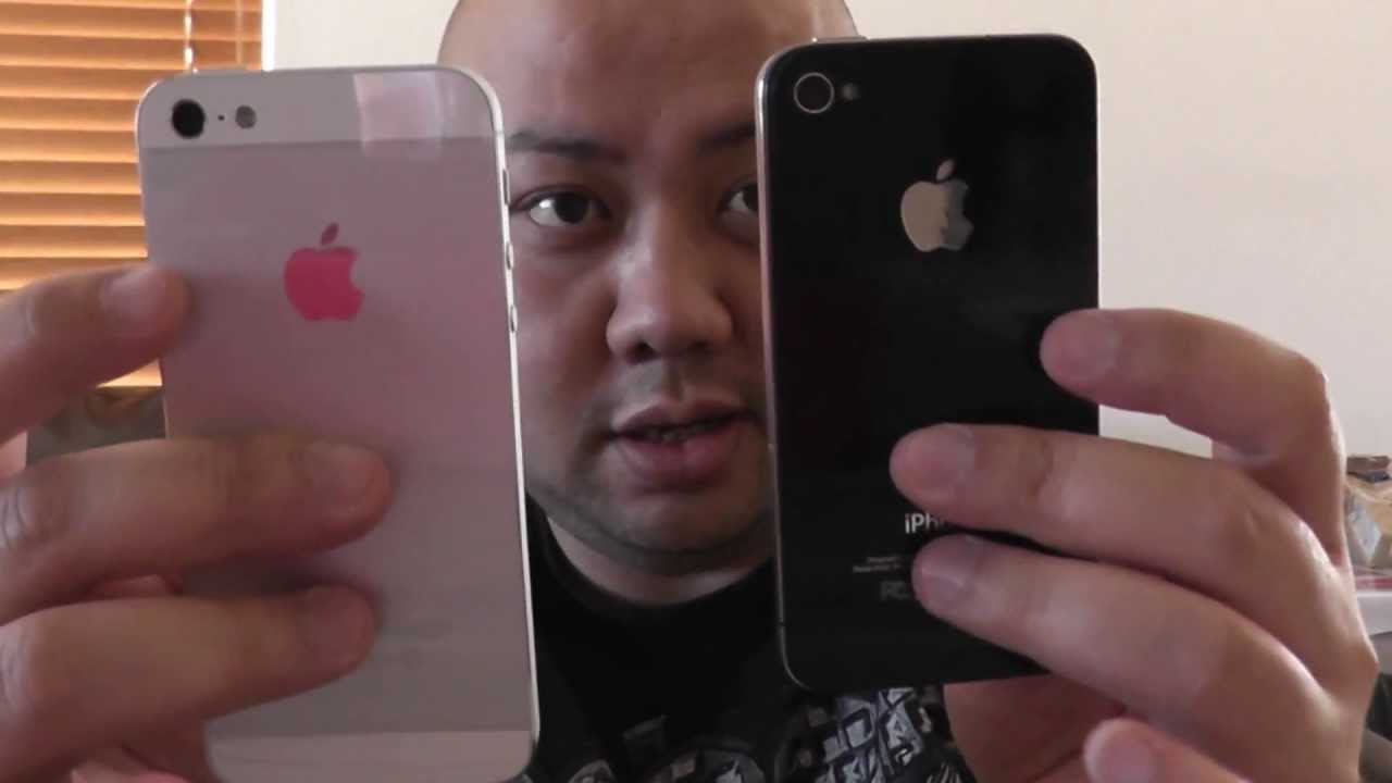 Unboxing Apple iPhone 5 32gb White Vs Black iPhone 4 Comparison In Full HD  By  Jspekz - YouTube 92437bed3c