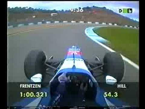 F1 1997 Europe FP4 — Hill Onboard