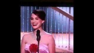 2011 Golden Globes Natalie Portman