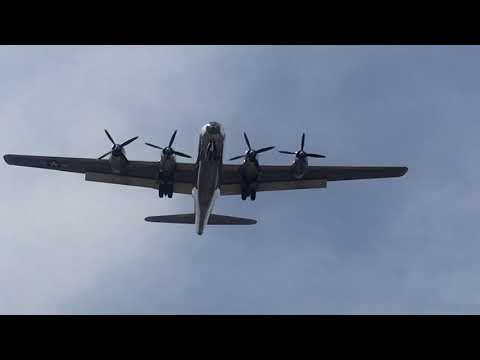 Doc, the B-29 Superfortress, flew into Hutchinson