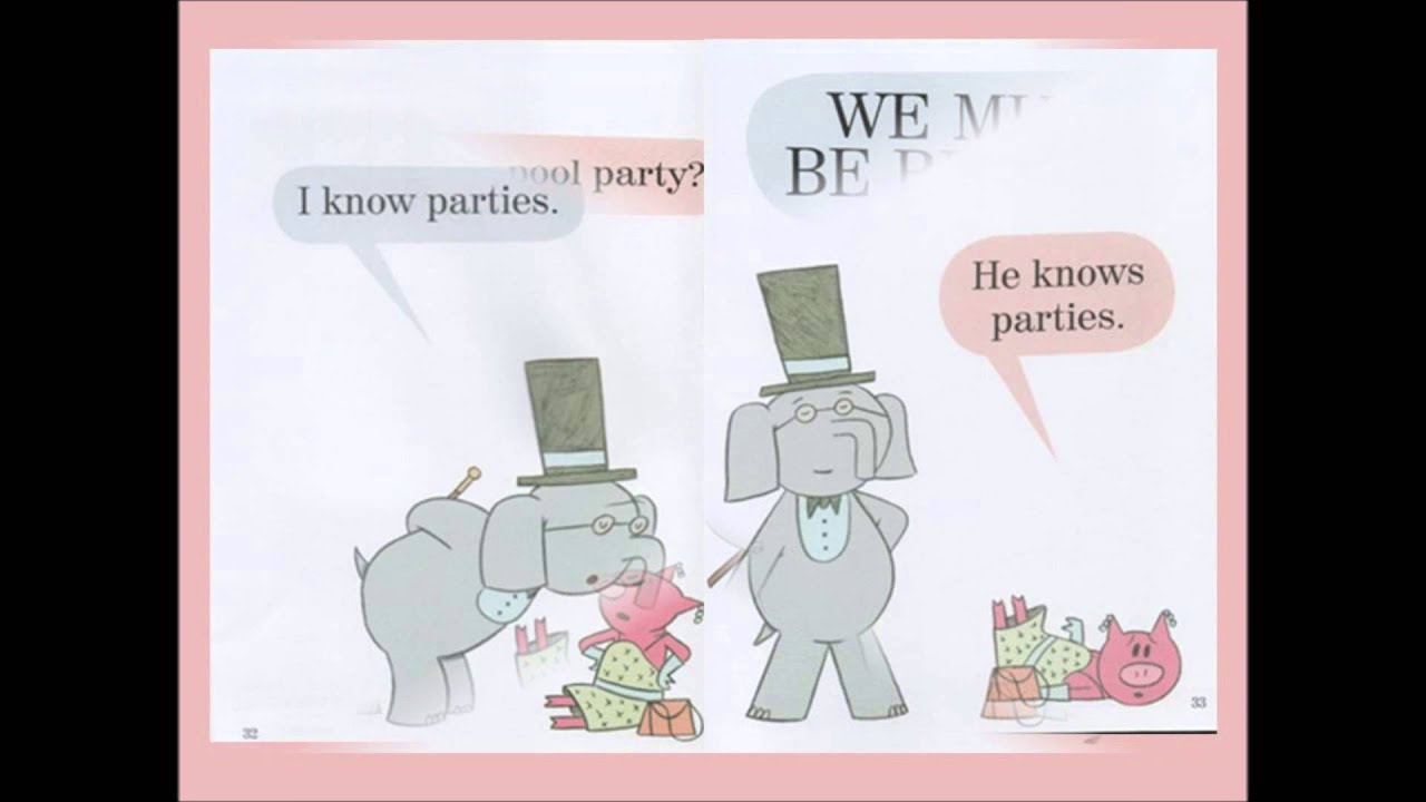 I\'m invited to a party - YouTube