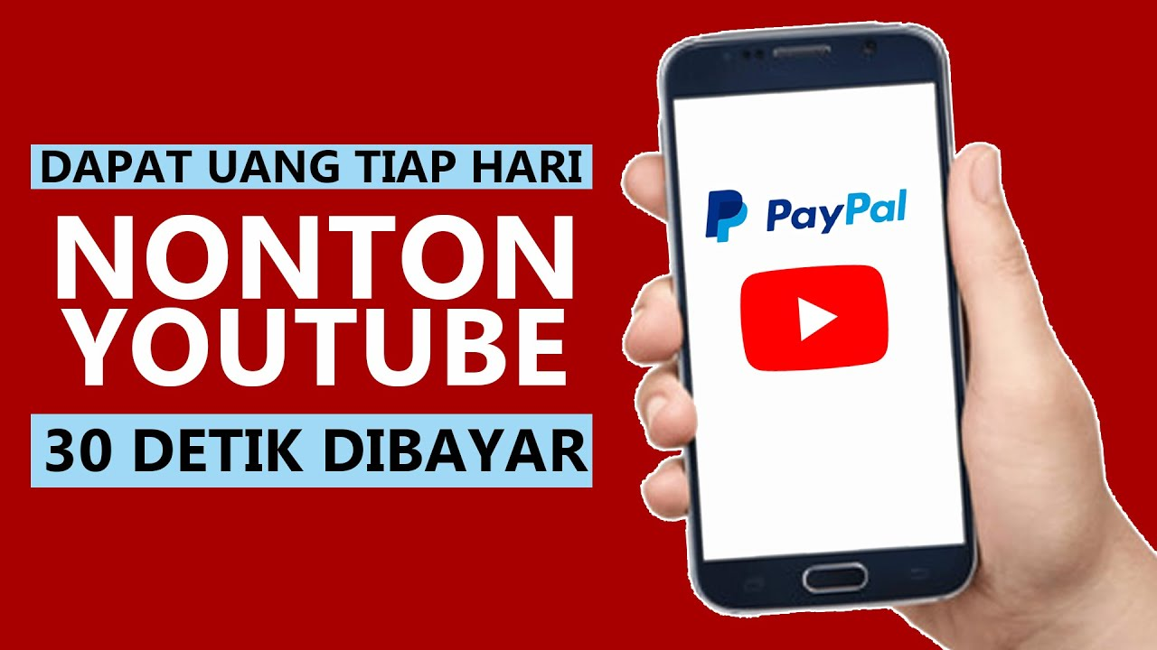 Nonton YouTube Dapat Uang Jutaan + Dapat Bonus Iphone X