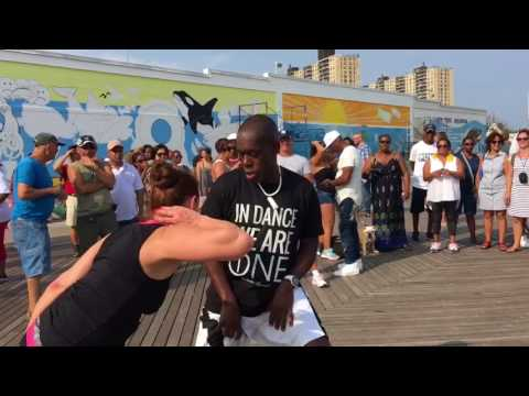 Coney Island - Dancing in the Boardwalk- July 22, 2017
