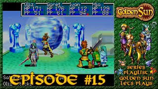 Golden Sun - Battling Saturos, Hermes Water - Episode 15