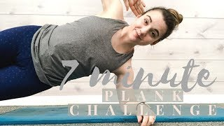 7 MINUTE PLANK FITNESS CHALLENGE | Health & Fitness