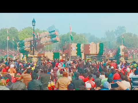 2018 Army, airforce and navy power through exhibition,tanks mi9,jet fighter, Republic day india gate