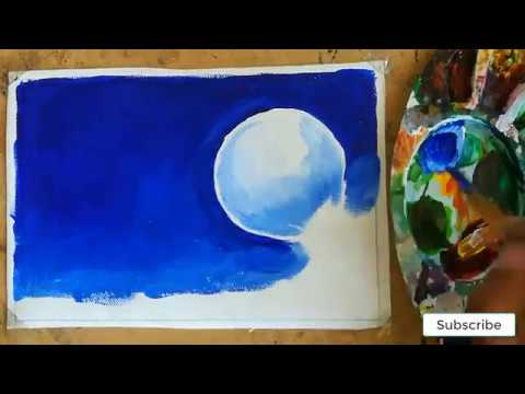moonlight-night-birds-poster-color-painting-easy-painting-for-beginners-hd