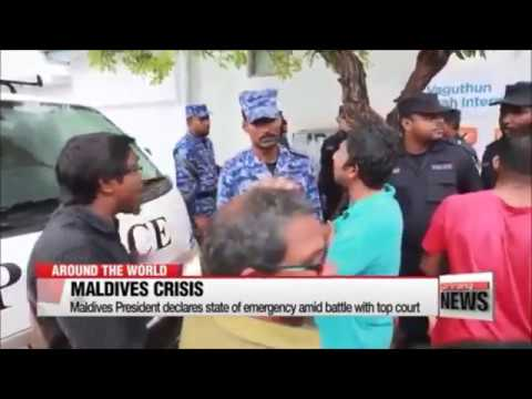 Maldives President declares state of emergency amid political crisis 1