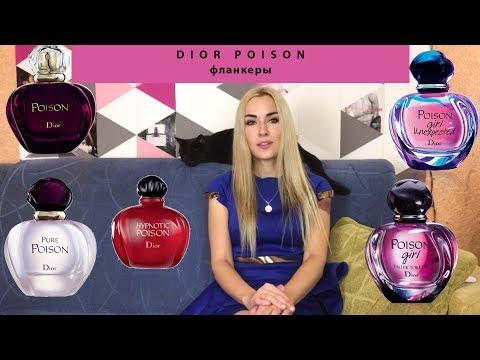 Christian Dior Poison. Версии легендарного парфюма Диор💋