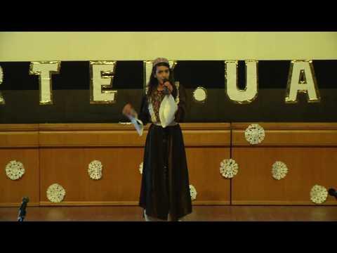 "Р.10. Sings Razan Espaniola (Nazareth, Israel)  Concert at the creative center ""Artek"" camp."