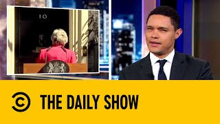 Theresa May's Tearful Brexit Farewell | The Daily Show with Trevor Noah