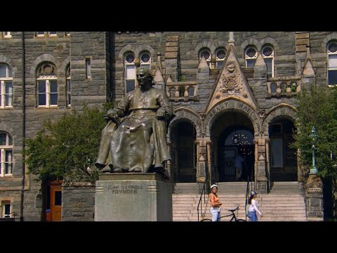 Georgetown University confronts its history with slavery
